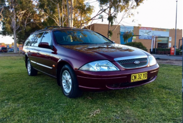 1999 Ford Fairmont AU Automatic Luxury Falcon Wagon