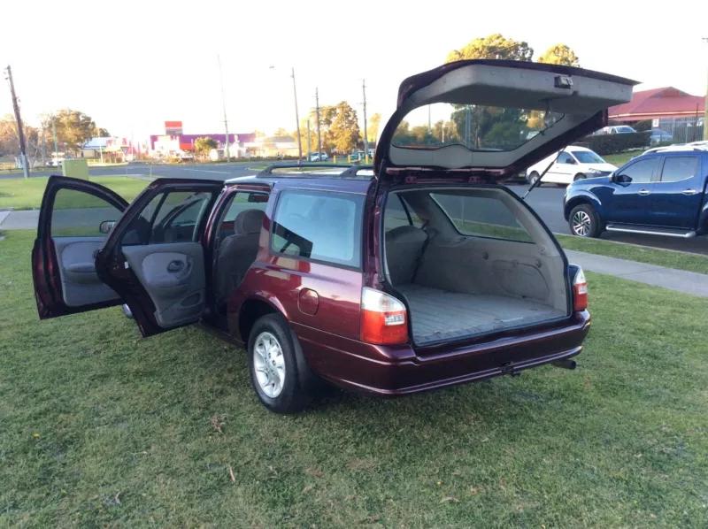 1999 Ford Fairmont AU Automatic Luxury Falcon Wagon